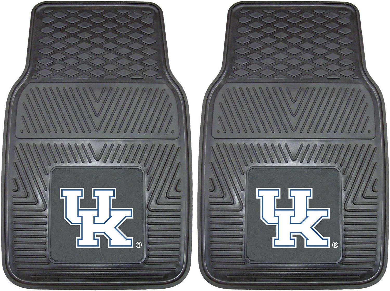 Amazon Com Fanmats 8784 Ncaa University Of Kentucky Wildcats Vinyl Heavy Duty Car Mat Black 18 X27 Automotive