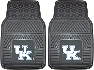 "product image for FANMATS 8784 NCAA University of Kentucky Wildcats Vinyl Heavy Duty Car Mat,Black,18""x27"""