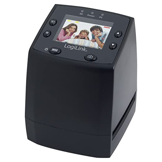 70 opinioni per LogiLink DS0001 scanner- scanners (5 x 5 mm, Film/slide, DC, CMOS, LCD, SD,
