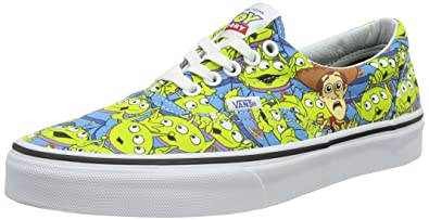 Amazon Com Vans Era Toy Story Aliens True White Mens 6 Women S