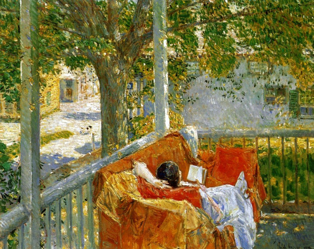 Amazon.com: The Museum Outlet - Couch on the Porch, Cos Cob ...
