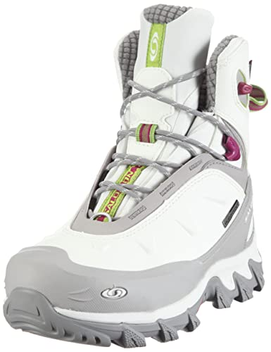 Salomon Women s Mischaka WP Sports and Outdoor Shoes White Size  3.5 ... ee69917673e