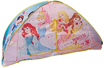Playhut Disney Princess Bed Tent Playhouse  sc 1 st  Amazon.com & Amazon.com: Playhut Disney Princess Bed Tent Playhouse: Toys u0026 Games