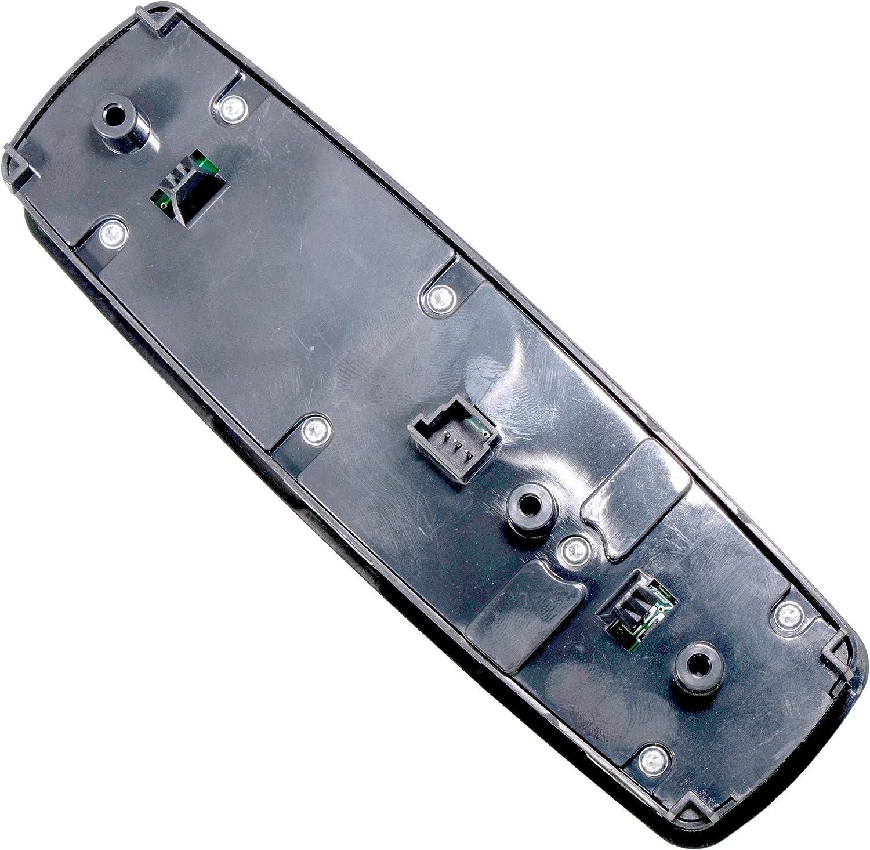 APDTY 139977 Power Window Switch Fits Select Mercedes Models w//Power-Folding Mirrors GL320 GL350 GL450 GL550 ML320 ML350 ML450 ML500 ML550 ML63 R320 R350 R500 R63 AMG 11 Button; Replaces 2518300390
