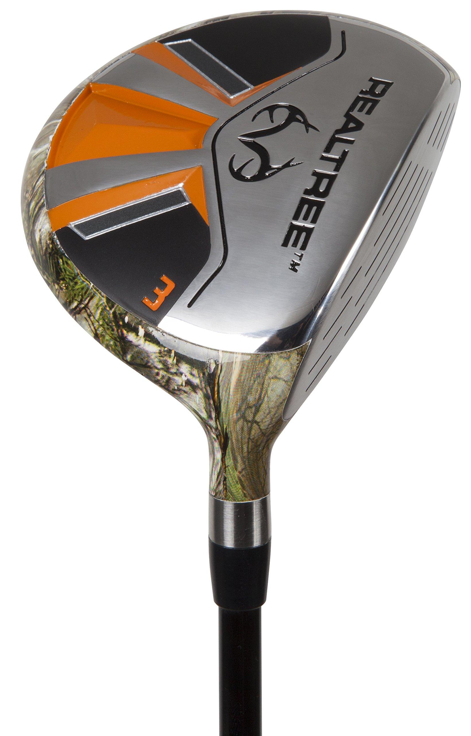 Pinemeadow Golf Men's Realtree Xtra Hybrid Club, Graphite, 15-Degree, 3, Regular, Right Hand