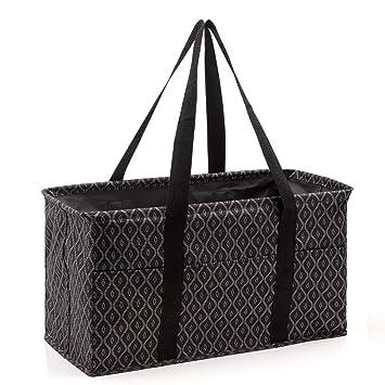 Amazon.com: Pursetti - Bolsa de lavandería grande con asas ...