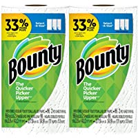 Bounty Select-A-Size, 2-ply 96 sheets Paper Towel Big Roll - White - 2-Pack