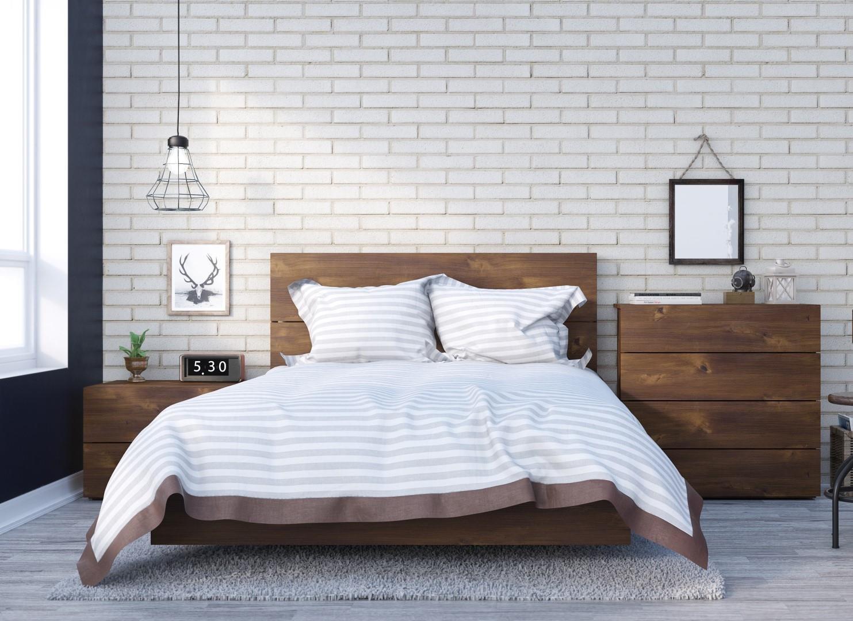 Nexera Karibou 4 Piece Full Size Bedroom Set Truffle