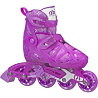Roller Derby Tracer Girls Adjustable Inline Small, 12-1