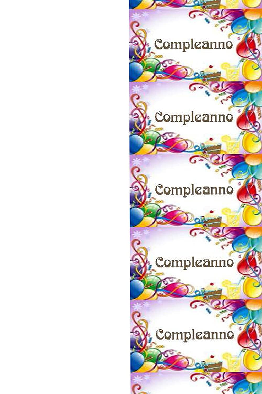 100 Tarjetas Cumpleaños con globos, bengalas y golosinas ...