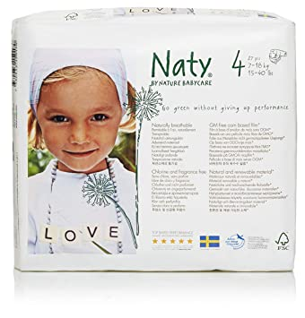 Amazoncom Nature Babycare Diapers Case Size 4 108ct Health