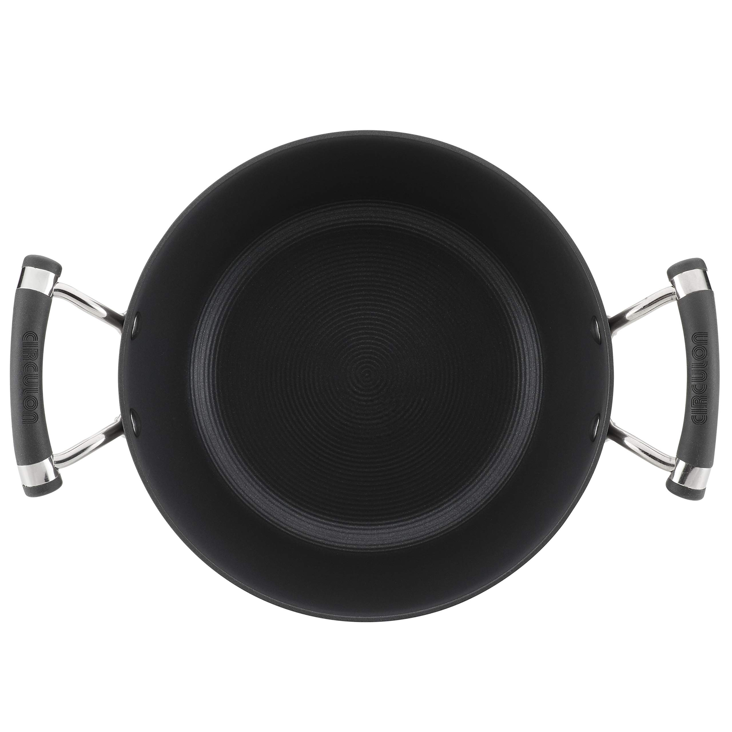 Circulon Acclaim Hard-Anodized Nonstick 4.5-Quart Covered Casserole by Circulon (Image #2)