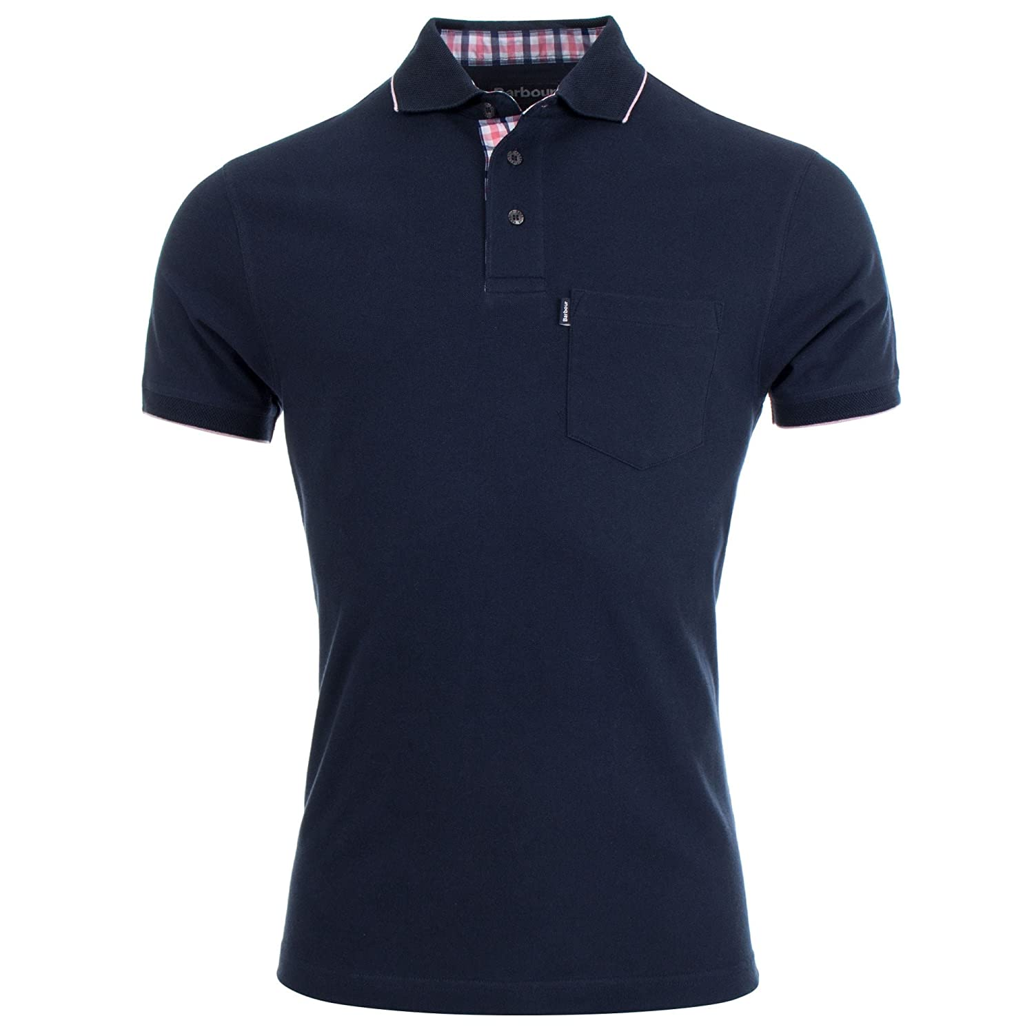 Barbour Polo - para Hombre Azul Azul Marino Medium: Amazon.es ...