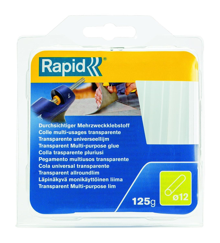 125 g Rapid 40107356 Klebesticks universal transparent /Ø12x94mm 125g /Ø12 x 94 mm