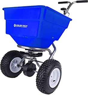 product image for Earthway Polar Tech 100lb Professional Stainless Steel Ice Melt Broadcast Spreader