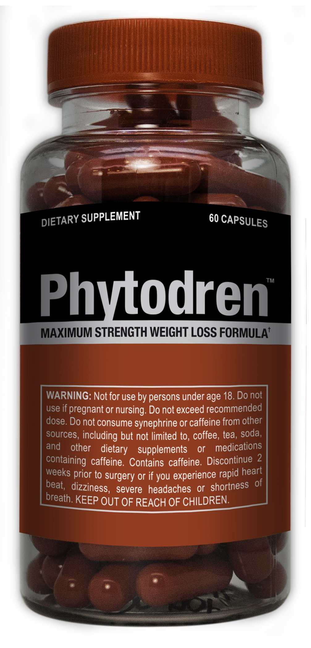 Phytodren - Hardcore Weight Loss - Burn Fat - Boost Energy Levels - Eat Less
