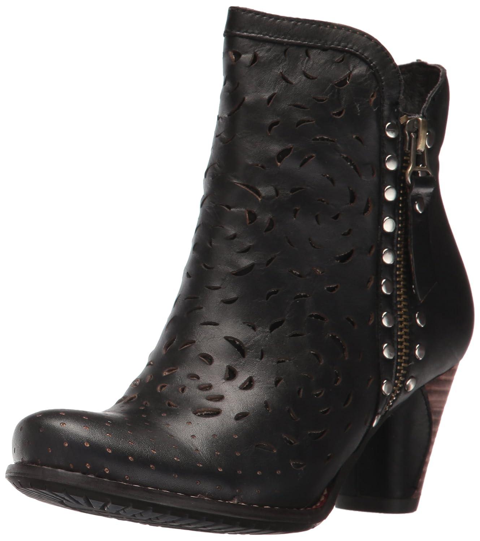 L'Artiste by Spring Step Women's Emese Ankle Bootie B01K0DOZ4I 42 EU/10.5 - 11 M US|Black