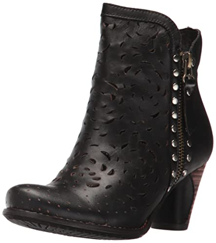 L'Artiste by Spring Step Women's Emese Ankle Bootie, Black, 35 EU/