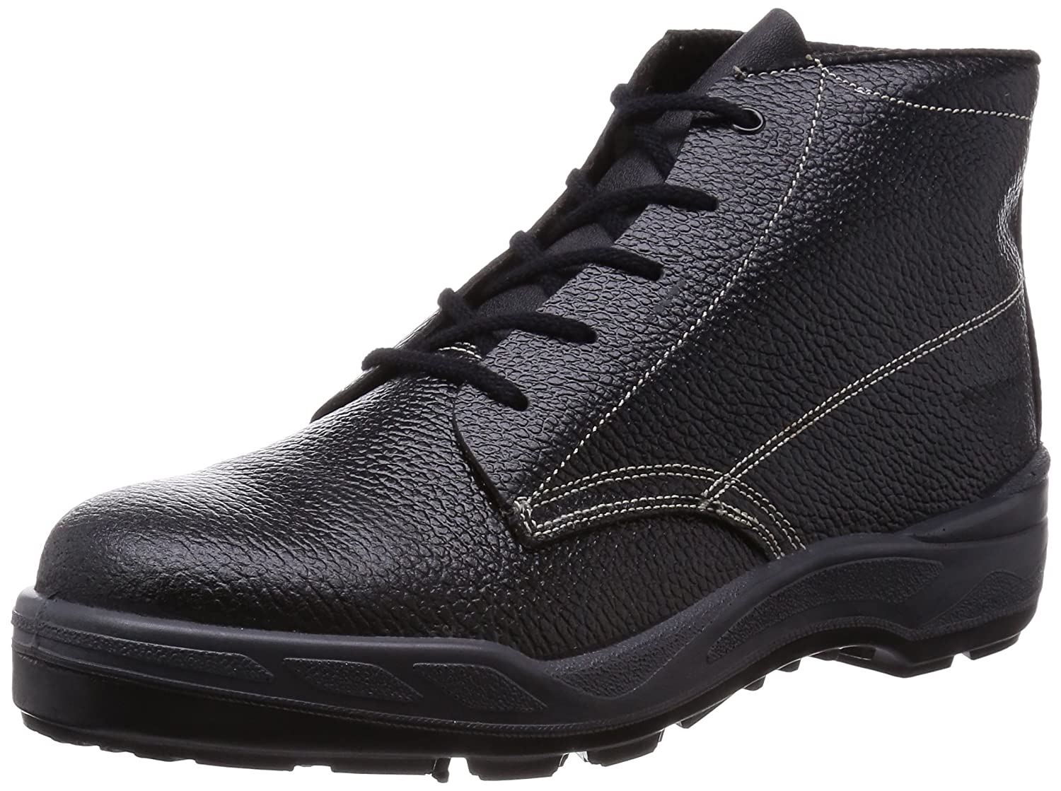 [ディアドラユーティリティ] 作業靴 JSAA認定 プロスニーカー GULL ガル メンズ B07DL2DK6K 28.0 cm 3E|ブラック&ホワイト&オレンジ