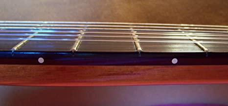 Guitarra clásica Fret marcadores – Nueva Pequeña Color Marfil lunares de roseta: Amazon.es: Instrumentos musicales