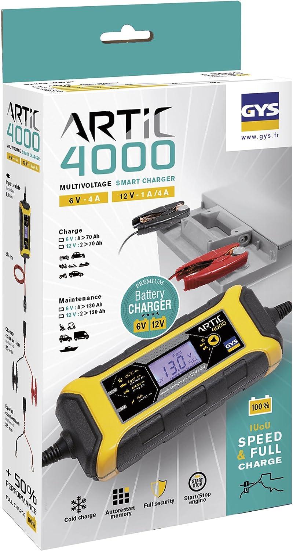 GYS 029583 Cargador de bater/ía Artic 4000