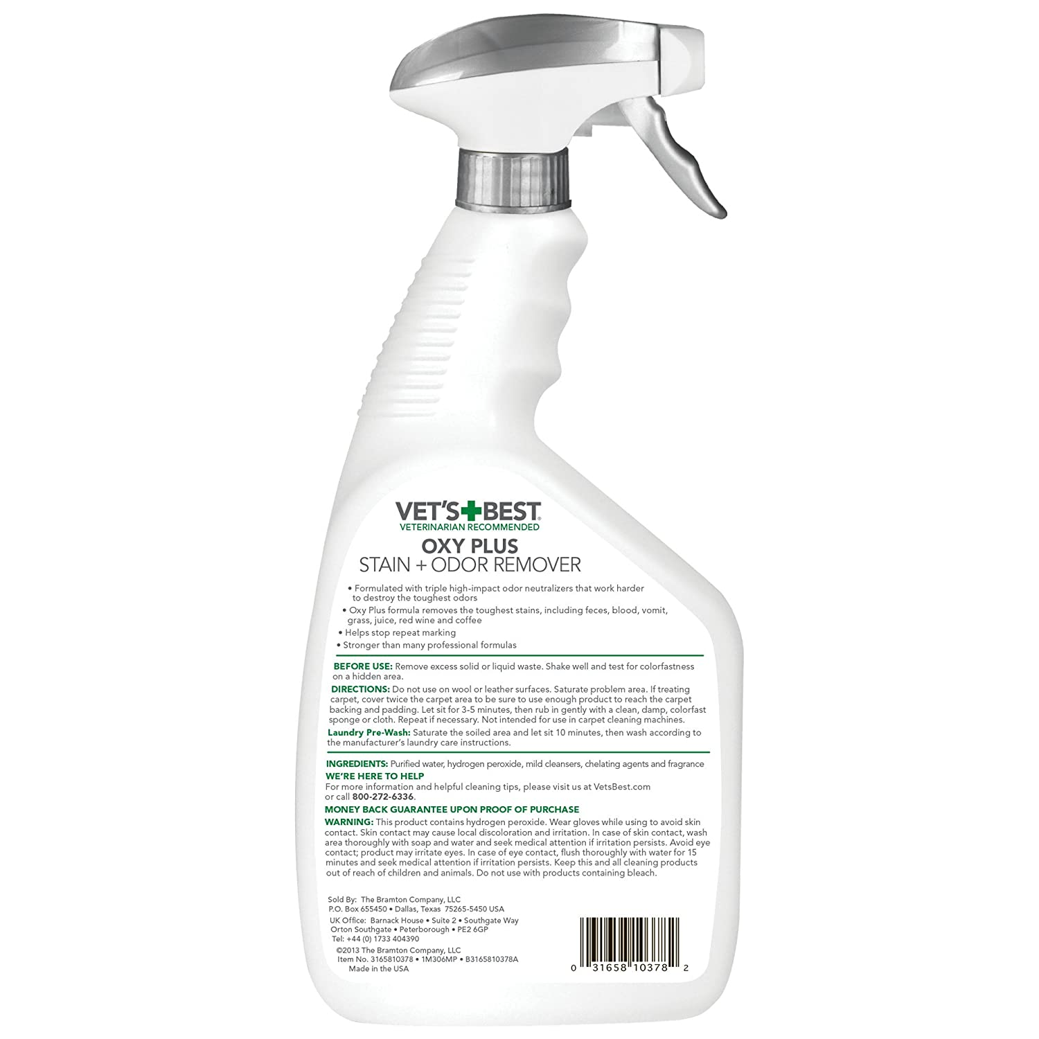Odor Remover, 32ounce : Pet Odor  And Stain Removers : Pet Supplies