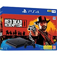 Sony PlayStation 4 1 TB Oyun Konsolu ve Red Dead Redemption 2 (Sony Eurasia Garantili)
