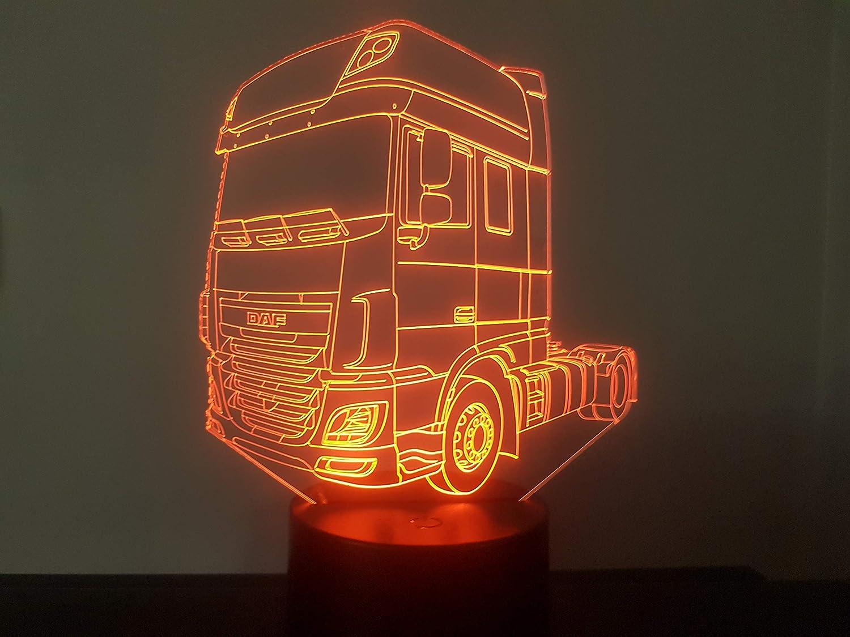 3D-LAMPE DAF XF 106