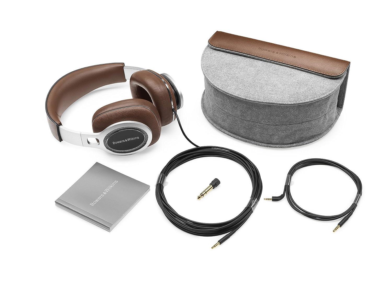amazon com bowers u0026 wilkins p9 premium headphones brown electronics