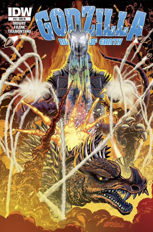 Godzilla Rulers of Earth #14 ePub fb2 ebook