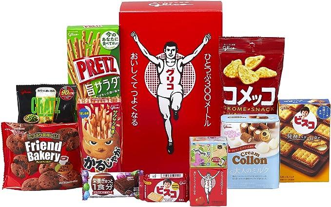Amazon | セレクション・ザ・グリコミニ 3個セット お菓子10品×3箱 | グリコ | スナック菓子 通販