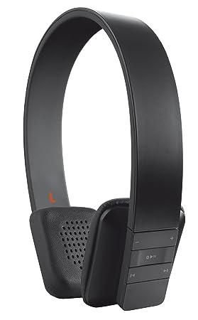 Trust Urban Blace - Auriculares de diadema abiertos Bluetooth (Con micrófono), negro: Amazon.es: Electrónica