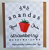 Ananda's vegetarische & vegane Erdbeere-Marshmallows 80g