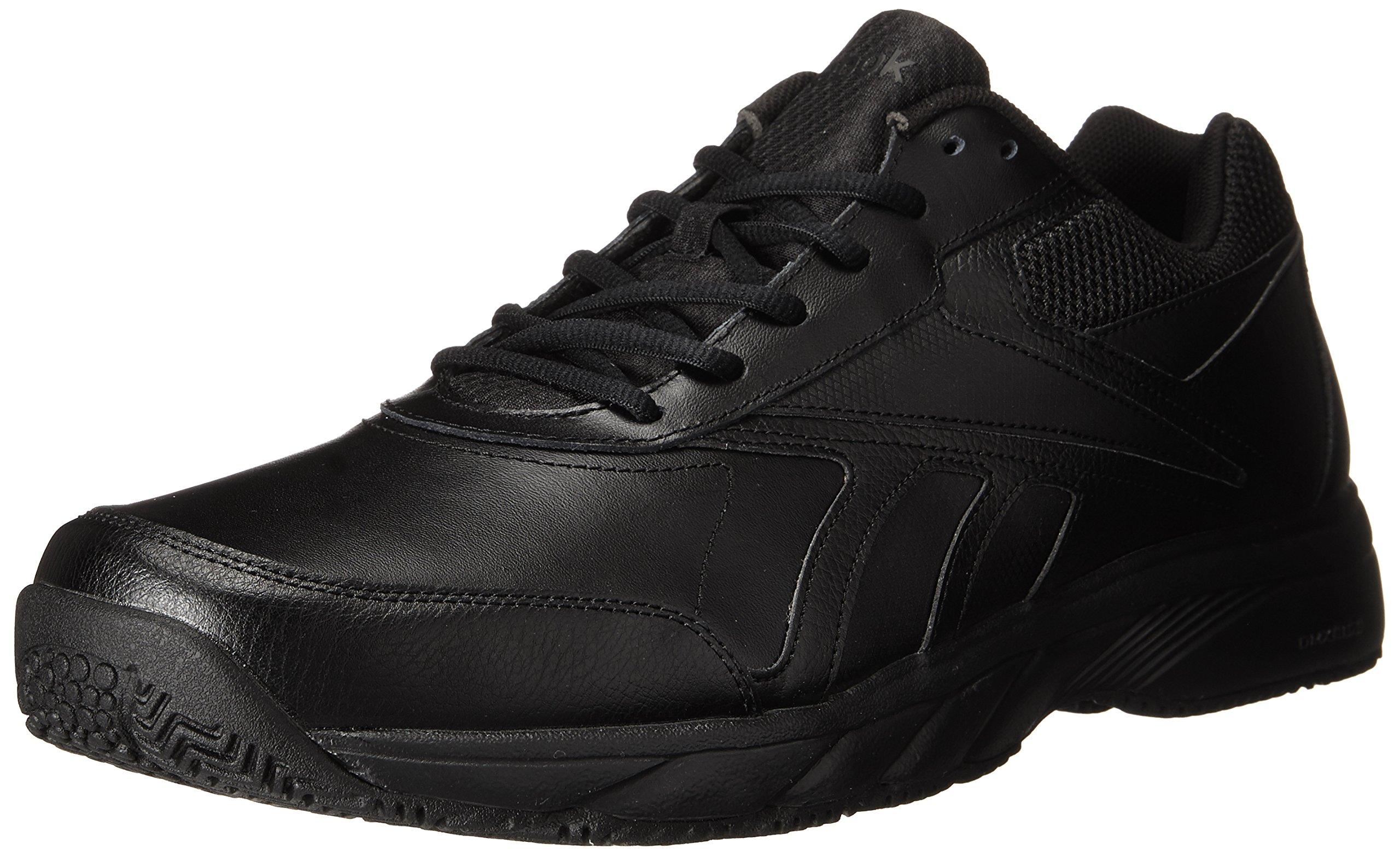 Reebok Men's Work N Cushion 2.0 Walking Shoe, Black/Black, 10.5 M US by Reebok