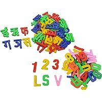 Advika Kid's Plastic Learning Kit Combo (Multicolour, Medium)