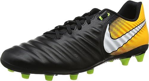 Nike Tiempo Ligera IV Fg, Scarpe da Calcio Uomo, Nero (Black