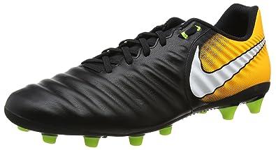 5186333ddbb965 Nike Herren Tiempo Ligera Iv Ag-pro Fußballschuhe Schwarz (Black White-Laser