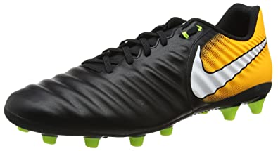 buy popular 2e205 c4589 Nike Herren Tiempo Ligera Iv AG-pro Fußballschuhe, Schwarz (BlackWhite-