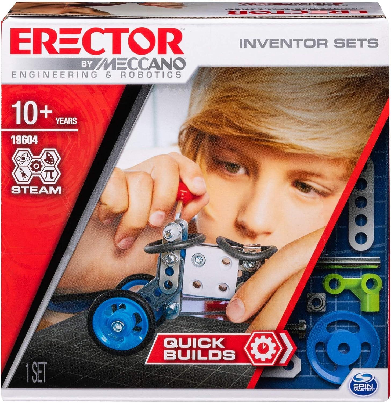 Futuristic Meccano models blend toys