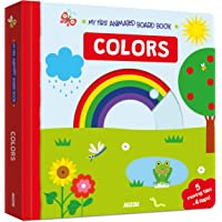 My First Interactive Board Book: Colors
