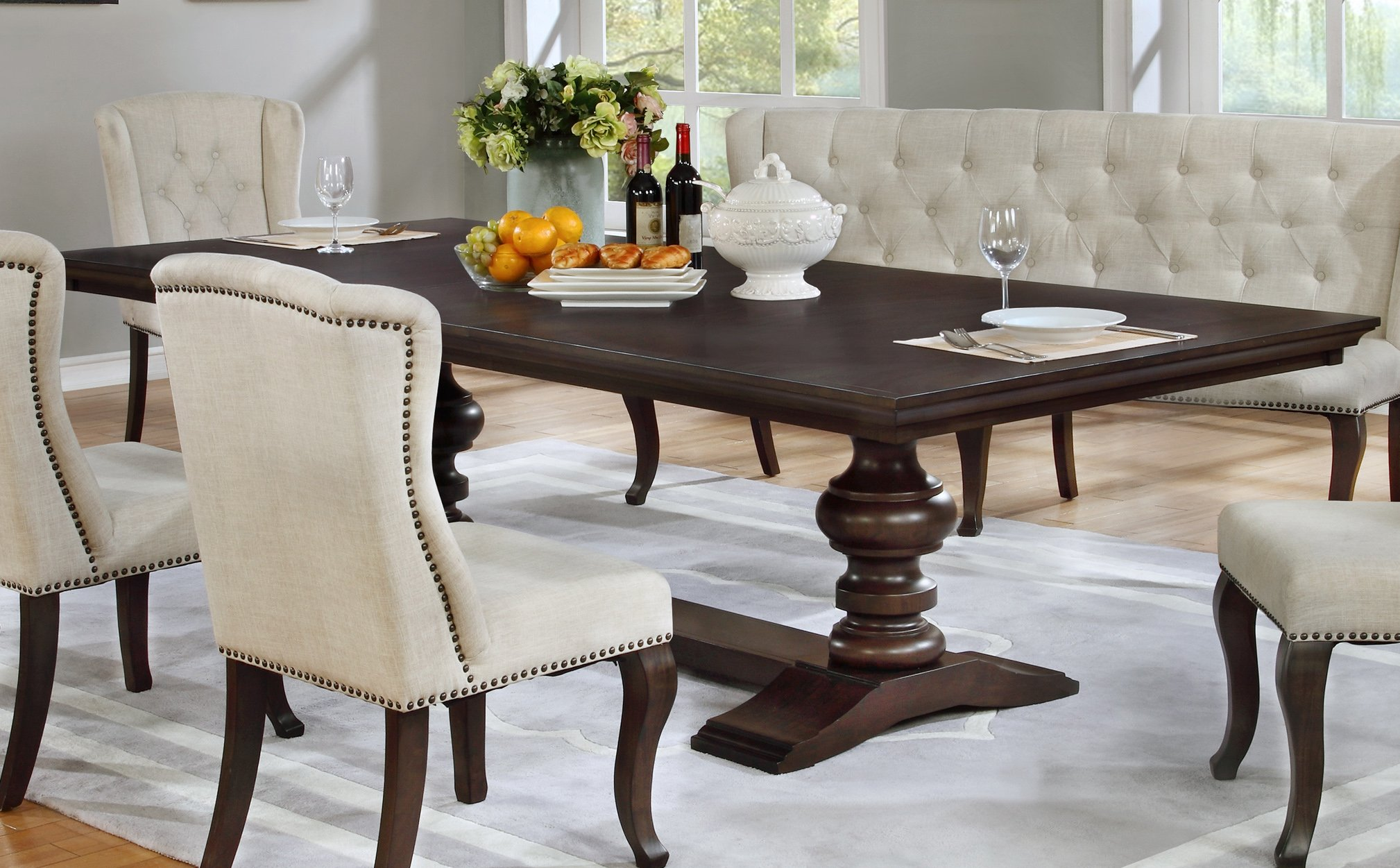 Best Quality Furniture Beige Dining Table by Best Quality