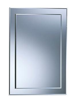 Magnifique miroir de salle de bain rectangulaire, moderne et élégant ...