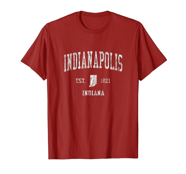 Amazon Indianapolis Indiana T Shirt Vintage Sports Design Indy