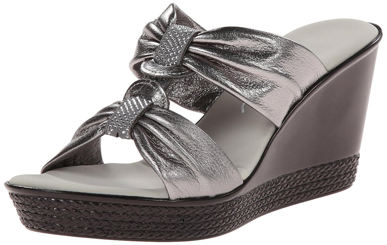 Onex Women's Dollie Wedge Sandal B00PSY9X7Y 7 B(M) US|Pewter