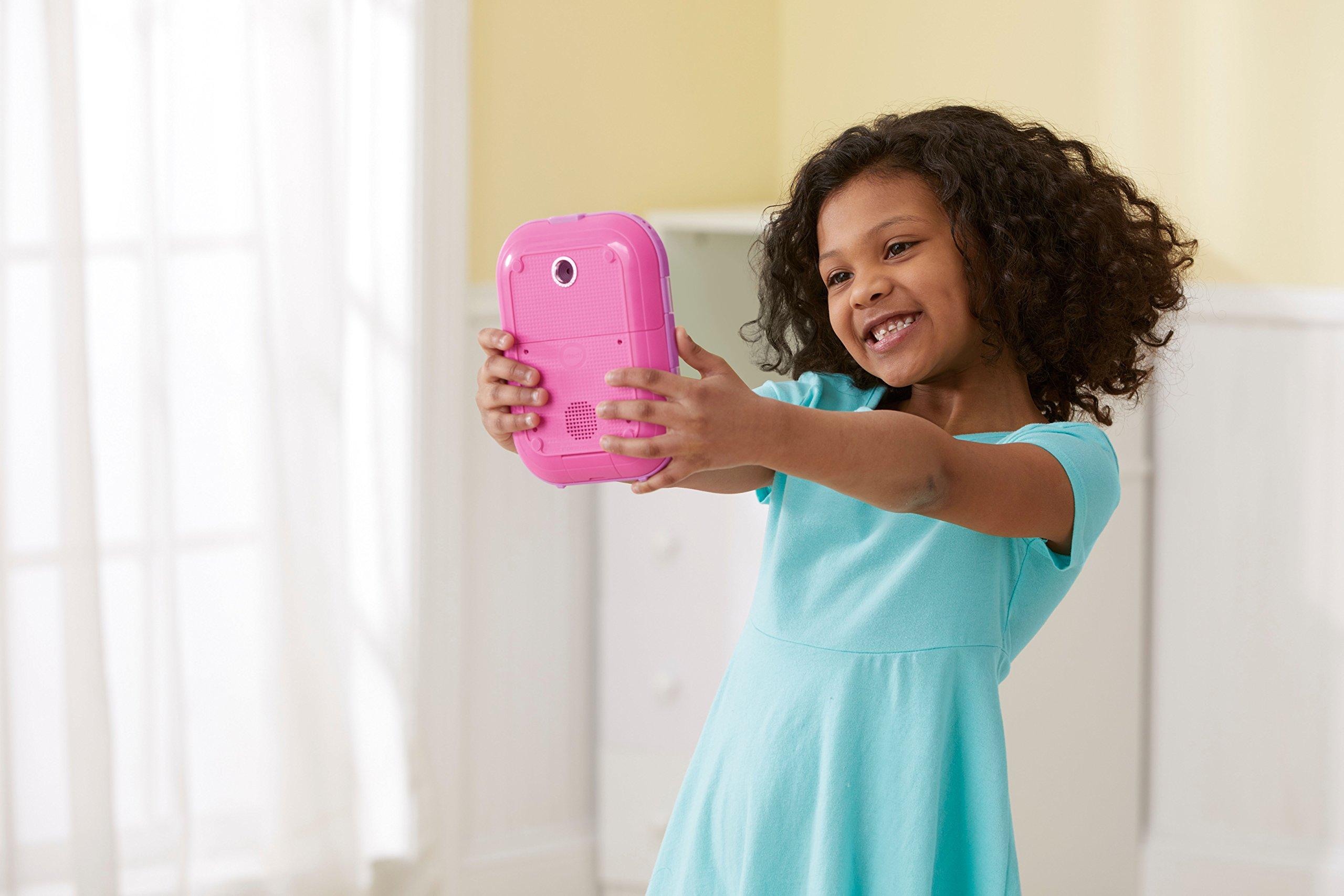 VTech Kidi Secrets Selfie Journal with Face Identifier, Pink by VTech (Image #4)