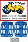 "PEDALS & WASHERS for The Original ""Classic"" Big Wheel 16"", Replacement Parts, Set of 2 Pedals & Washers 3/8"", Blue, 1 pair of each"