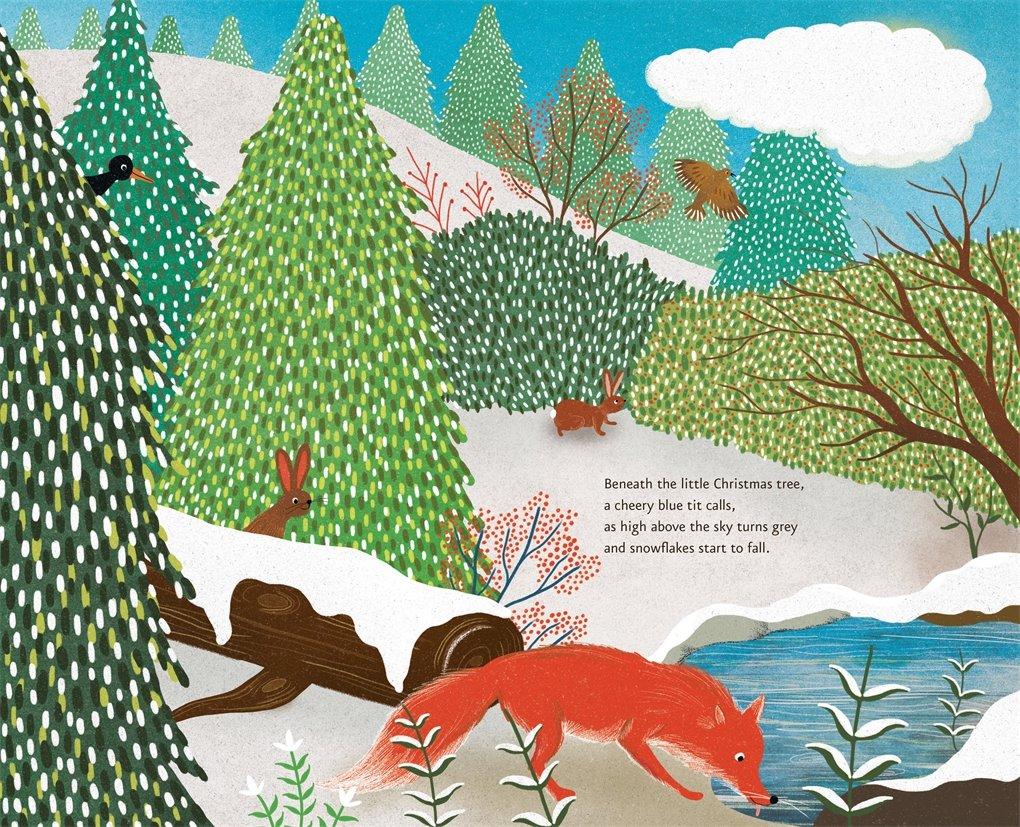 Little Christmas Tree: Amazon.co.uk: Ruth Symons, Jessica Courtney ...
