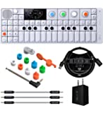 Teenage Engineering OP-1 Portable Synthesizer, Sampler, and Controller Bundle with OP-1 Accessory Kit, Blucoil USB Wall…