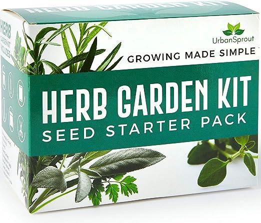 Herb Garden Kit - Cultive sus propias hierbas en el interior ...