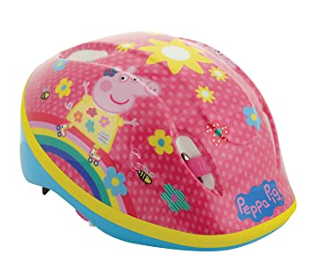 Peppa Pig - Casco de Seguridad, Casco de Seguridad, Color, tamaño 48-